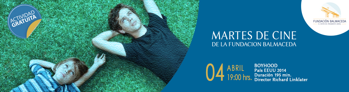 Martes de cine: BOYHOOD | 04 de abril | 19:00 hrs.