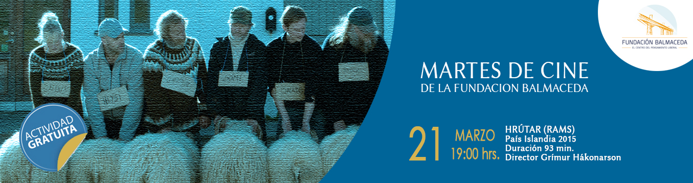 Martes de cine: HRÙTAR (RAMS)  | 21 de marzo | 19:00 hrs.