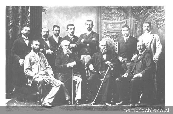 La ruta de liberalismo chileno en el siglo XIX