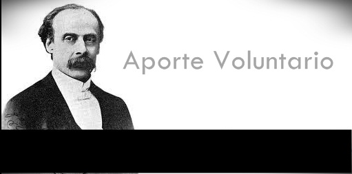 Aportes voluntarios