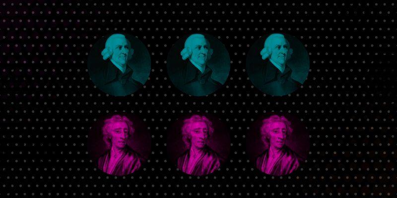 "Lecturas Liberales agosto: ""Una lectura igualitaria de Locke y Smith"""