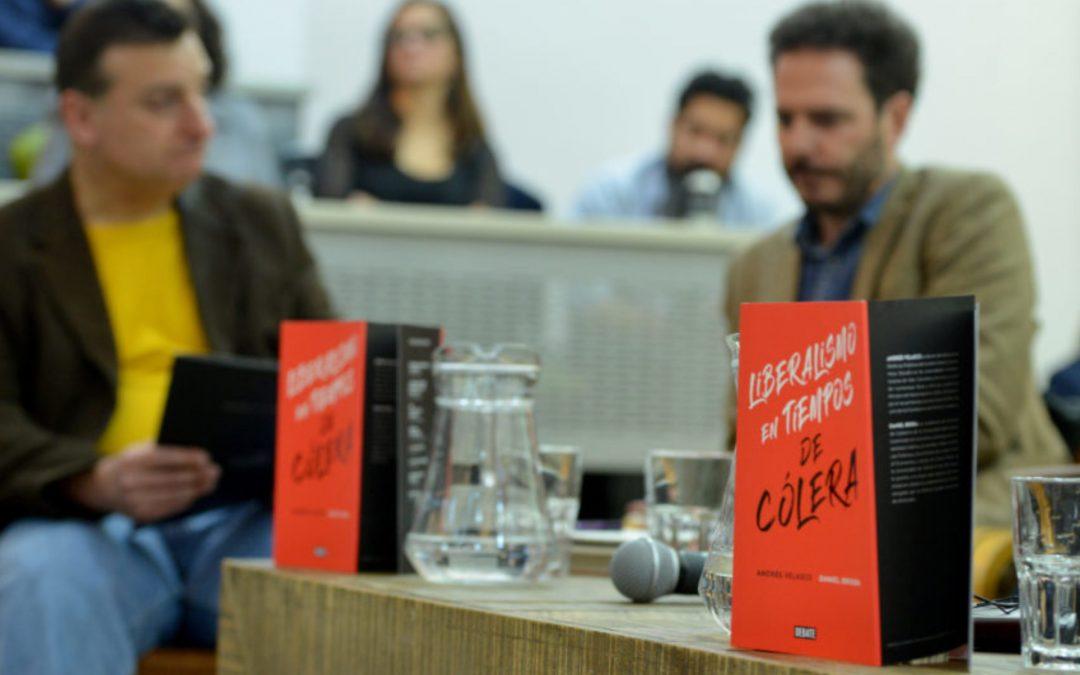 """Lanzamiento de """"Liberalismo en tiempos de Cólera"""" de Andrés Velasco y Daniel Brieba"""
