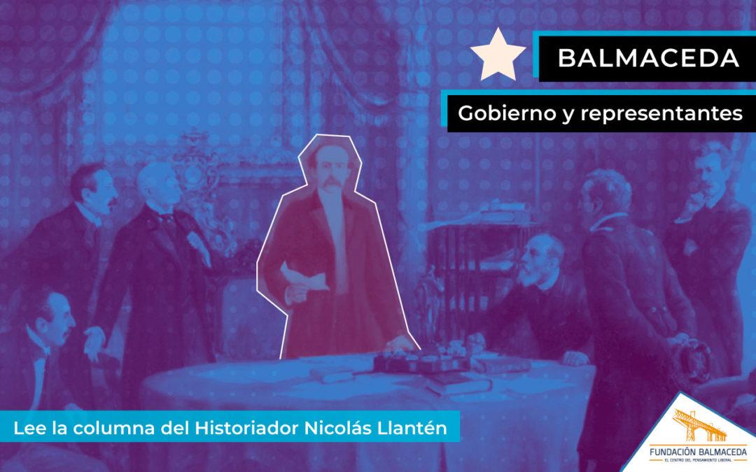 Balmaceda: Gobierno y representantes