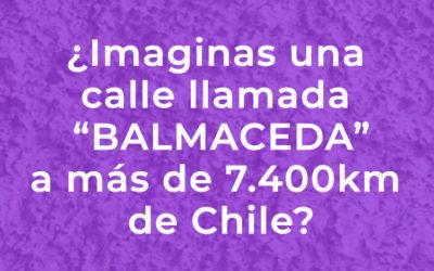 El enigma de la calle Balmaceda